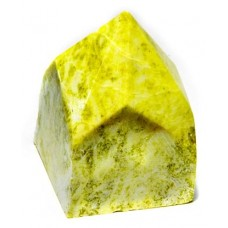 Yellow Jade top polished point